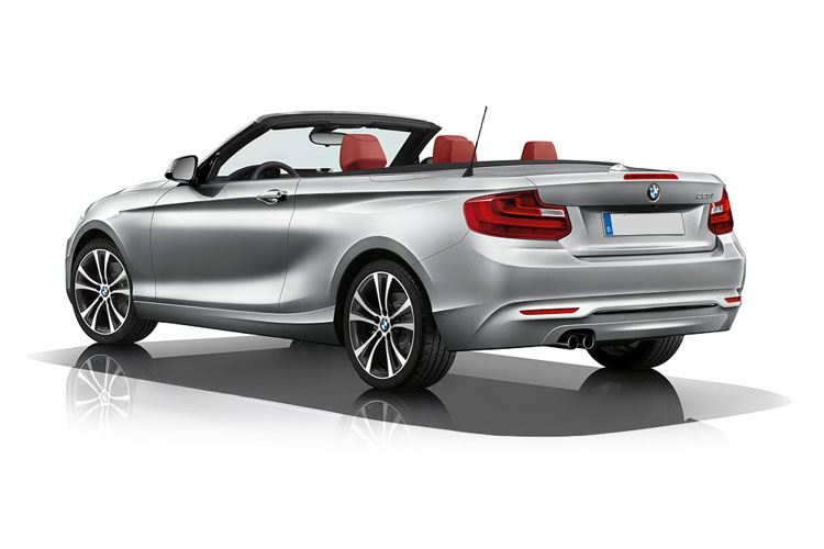 BMW 2 Series 220 Convertible 2.0 d 190PS M Sport 2Dr Auto [Start Stop] [Tech II] back view