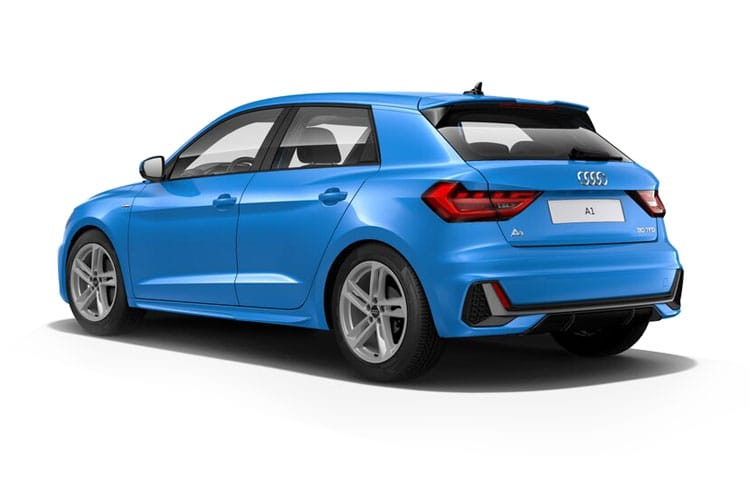 Audi A1 25 Sportback 5Dr 1.0 TFSI 95PS Black Edition 5Dr Manual [Start Stop] [Technology] back view