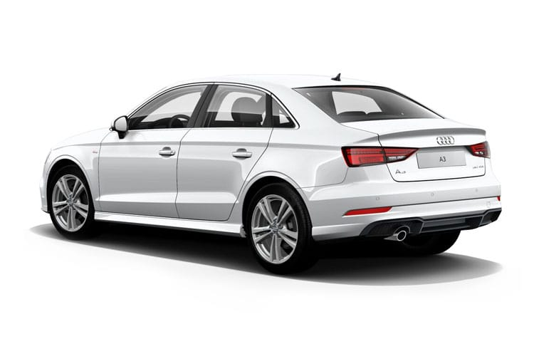Audi A3 35 Saloon 4Dr 1.5 TFSI 150PS Sport 4Dr Manual [Start Stop] [Comfort Sound] back view