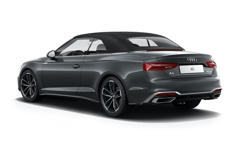 Audi A5 45 Cabriolet quattro 2Dr 2.0 TFSI 265PS Vorsprung 2Dr S Tronic [Start Stop] back view