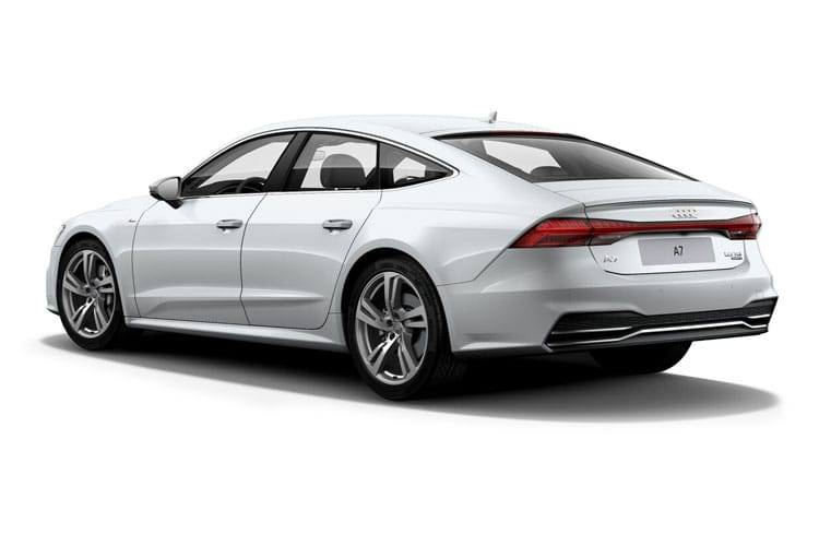 Audi A7 50 Sportback quattro 5Dr 3.0 TDI V6 286PS Black Edition 5Dr Tiptronic [Start Stop] [Comfort Sound] back view