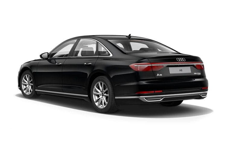 Audi A8 50 Saloon quattro LWB 4Dr 3.0 TDI V6 286PS Vorsprung 4Dr Tiptronic [Start Stop] back view
