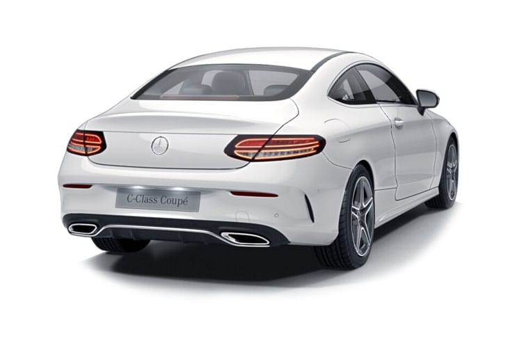 Mercedes-Benz C Class C200 Coupe 1.5  198PS AMG Line 2Dr G-Tronic+ [Start Stop] back view