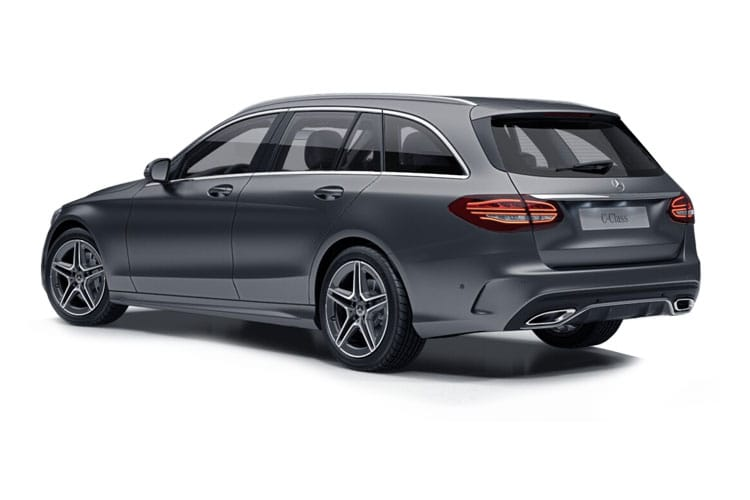 Mercedes-Benz C Class C300 Estate 2.0 MHEV 272PS AMG Line Night Edition 5Dr G-Tronic+ [Start Stop] [Premium] back view