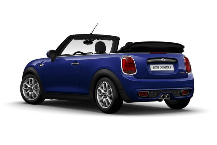 MINI Convertible Cooper S 2.0  178PS Classic 2Dr Manual [Start Stop] [Comfort] back view