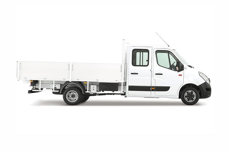 Renault Master LWB 35TW RWD 2.3 dCi ENERGY DRW 145PS Business Tipper Double Cab Manual [Start Stop] [Aluminium] back view