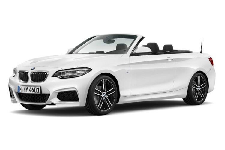 BMW 2 Series 220 Convertible 2.0 d 190PS M Sport 2Dr Auto [Start Stop] [Tech II] front view