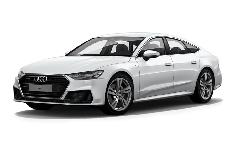 Audi A7 50 Sportback quattro 5Dr 3.0 TDI V6 286PS Black Edition 5Dr Tiptronic [Start Stop] [Comfort Sound] front view