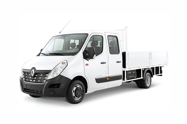 Renault Master LWB 35TW RWD 2.3 dCi ENERGY DRW 145PS Business Tipper Double Cab Manual [Start Stop] [Aluminium] front view