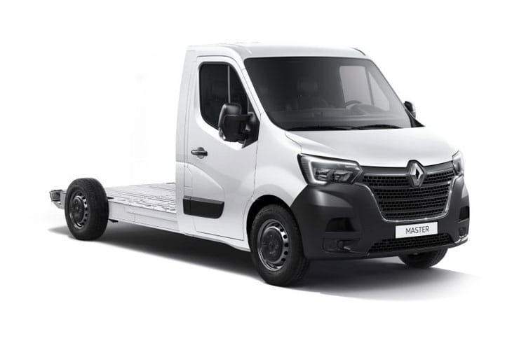 Renault Master LWB 31 FWD Elec 33kWh 57KW FWD 77PS i Business Platform Cab Auto front view