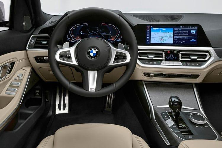 BMW 3 Series 320 Touring 2.0 d MHT 190PS M Sport Pro Edition 5Dr Auto [Start Stop] inside view