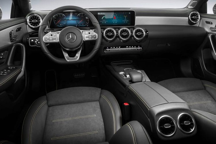 Mercedes-Benz A Class A220 Hatch 5Dr 2.0 d 190PS AMG Line 5Dr 8G-DCT [Start Stop] inside view