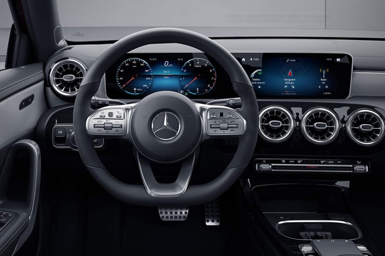 Mercedes-Benz A Class A200 Saloon 4Dr 2.0 d 150PS AMG Line 4Dr 8G-DCT [Start Stop] inside view