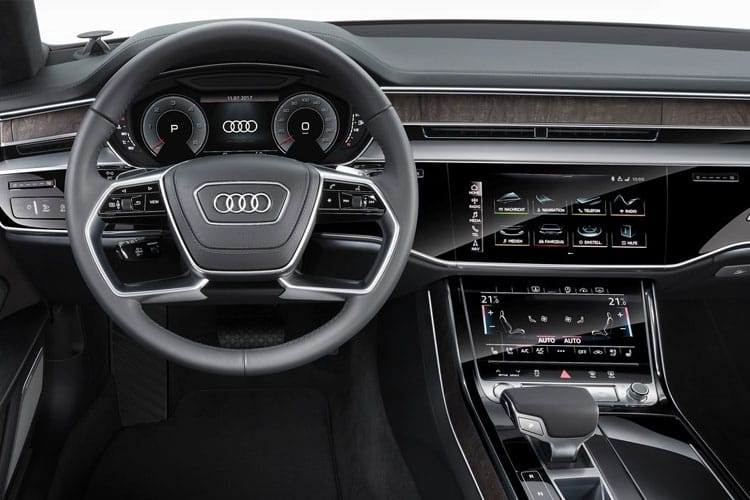 Audi A8 50 Saloon quattro 4Dr 3.0 TDI V6 286PS Black Edition 4Dr Tiptronic [Start Stop] inside view