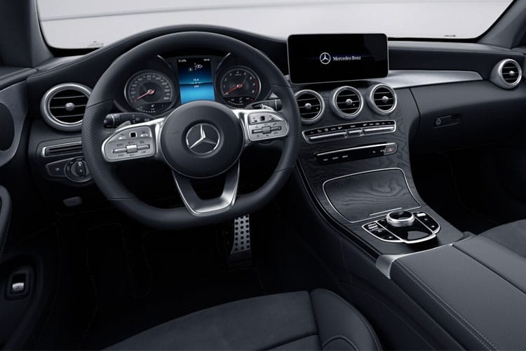 Mercedes-Benz C Class C200 Coupe 1.5  198PS AMG Line 2Dr G-Tronic+ [Start Stop] inside view