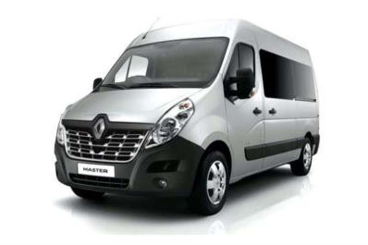 Renault Master LWB 35 FWD 2.3 dCi ENERGY FWD 150PS Business Window Van High Roof Manual [Start Stop] inside view