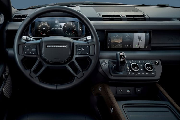 Land Rover Defender 90 SUV 3Dr 3.0 D MHEV 250PS HSE 3Dr Auto [Start Stop] [6Seat] inside view