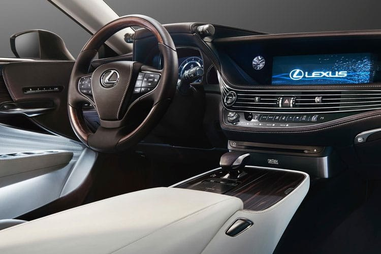 Lexus LS 500 Saloon 4wd 3.5 h V6 359PS Takumi 4Dr E-CVT [Start Stop] [Leather-Aniline] inside view