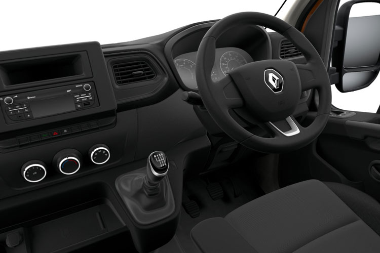 Renault Master LWB 31 FWD Elec 33kWh 57KW FWD 77PS i Business Platform Cab Auto inside view