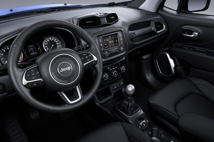 Jeep Renegade SUV 1.3 GSE T4 150PS Limited 5Dr DDCT [Start Stop] inside view