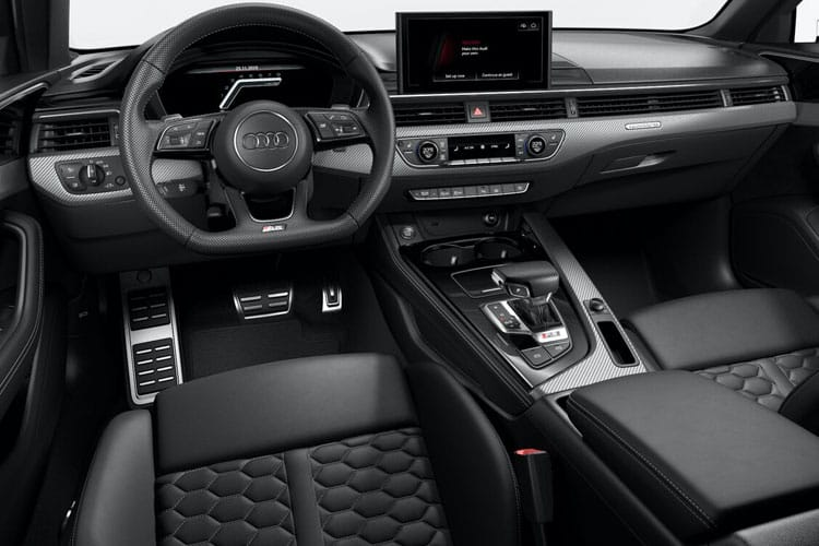 Audi A4 S4 Avant quattro 5Dr 3.0 TDI V6 341PS Black Edition 5Dr Tiptronic [Start Stop] [Comfort Sound] inside view