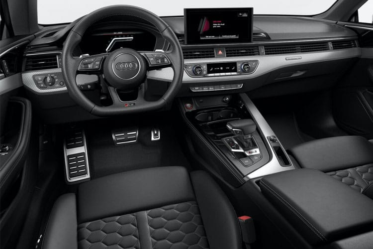 Audi A5 40 Coupe quattro 2Dr 2.0 TDI 204PS Sport 2Dr S Tronic [Start Stop] inside view